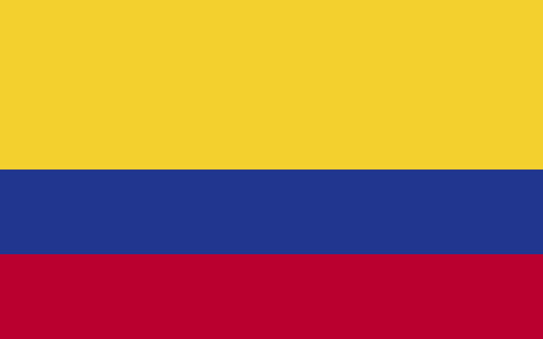 easyFly Colombia Flag